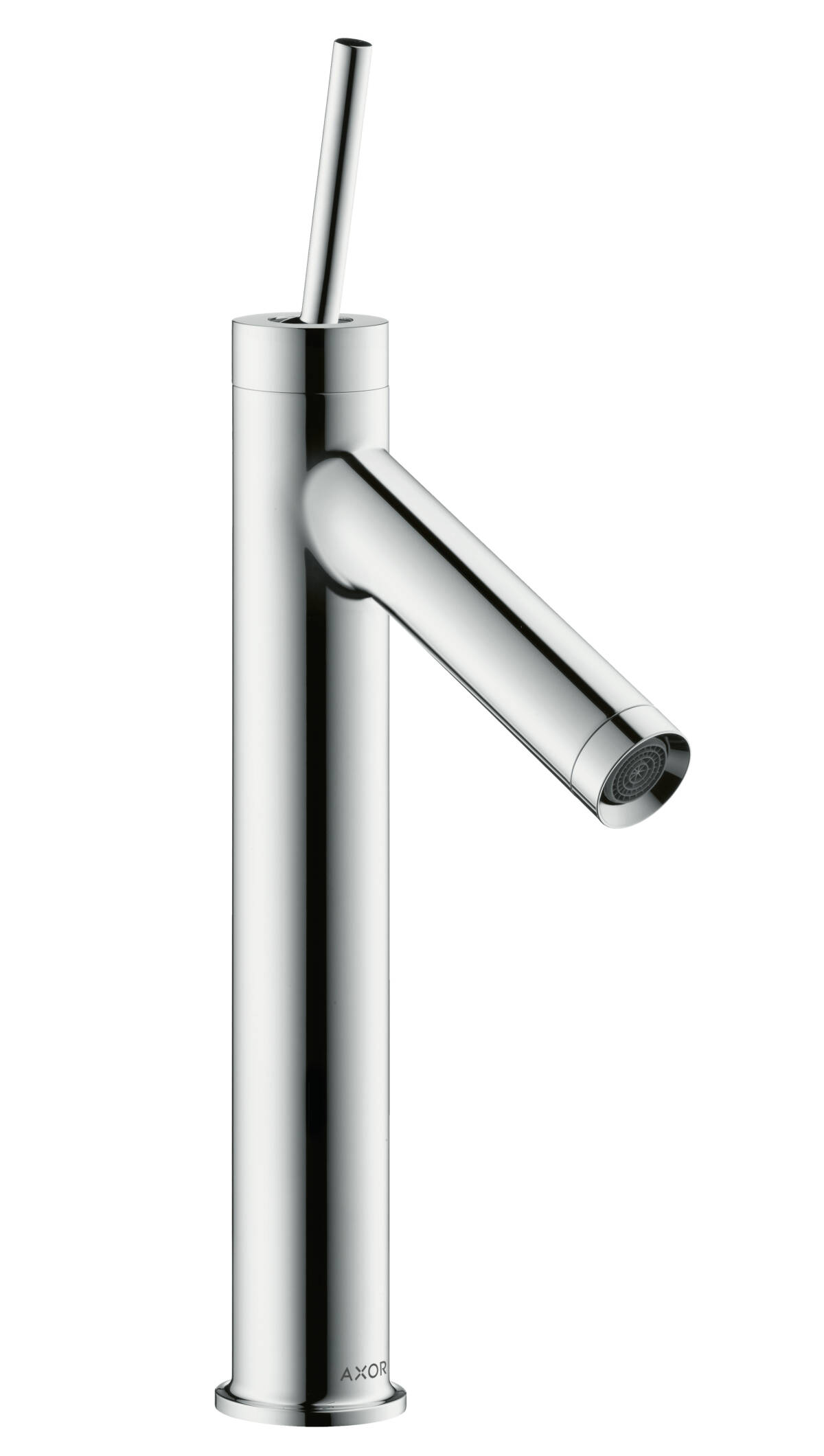 Single lever basin mixer 170 with pin handle and waste set, Chrome, 10123000