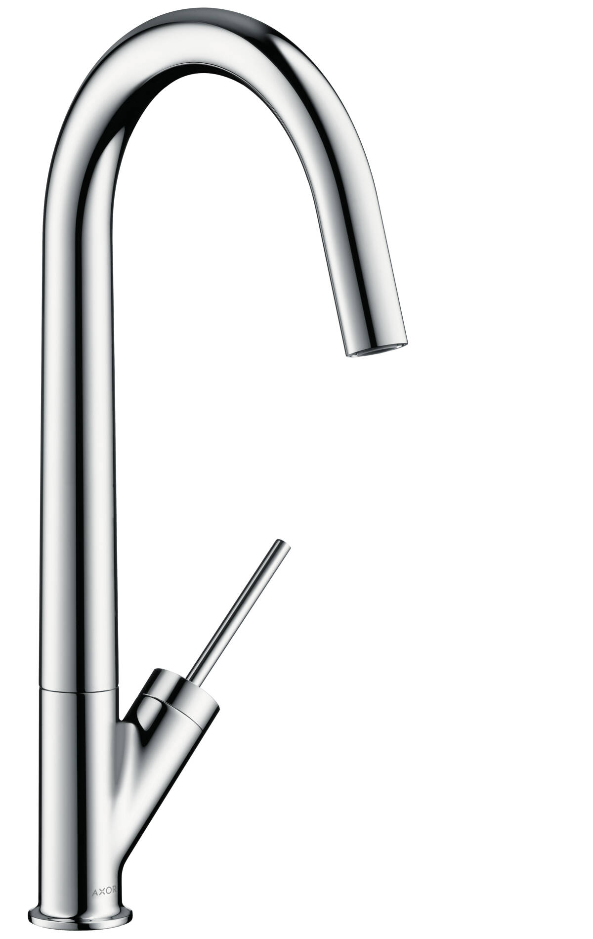Single lever kitchen mixer 300 with swivel spout, Polished Black Chrome, 10822330