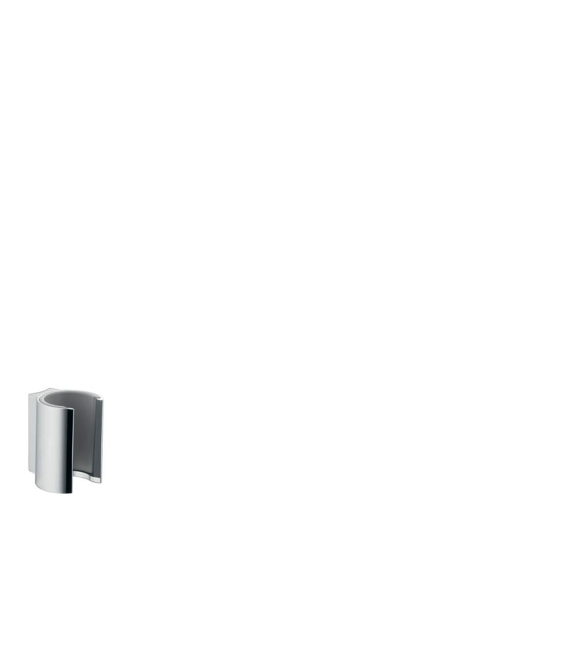 Shower holder, Brushed Nickel, 27515820