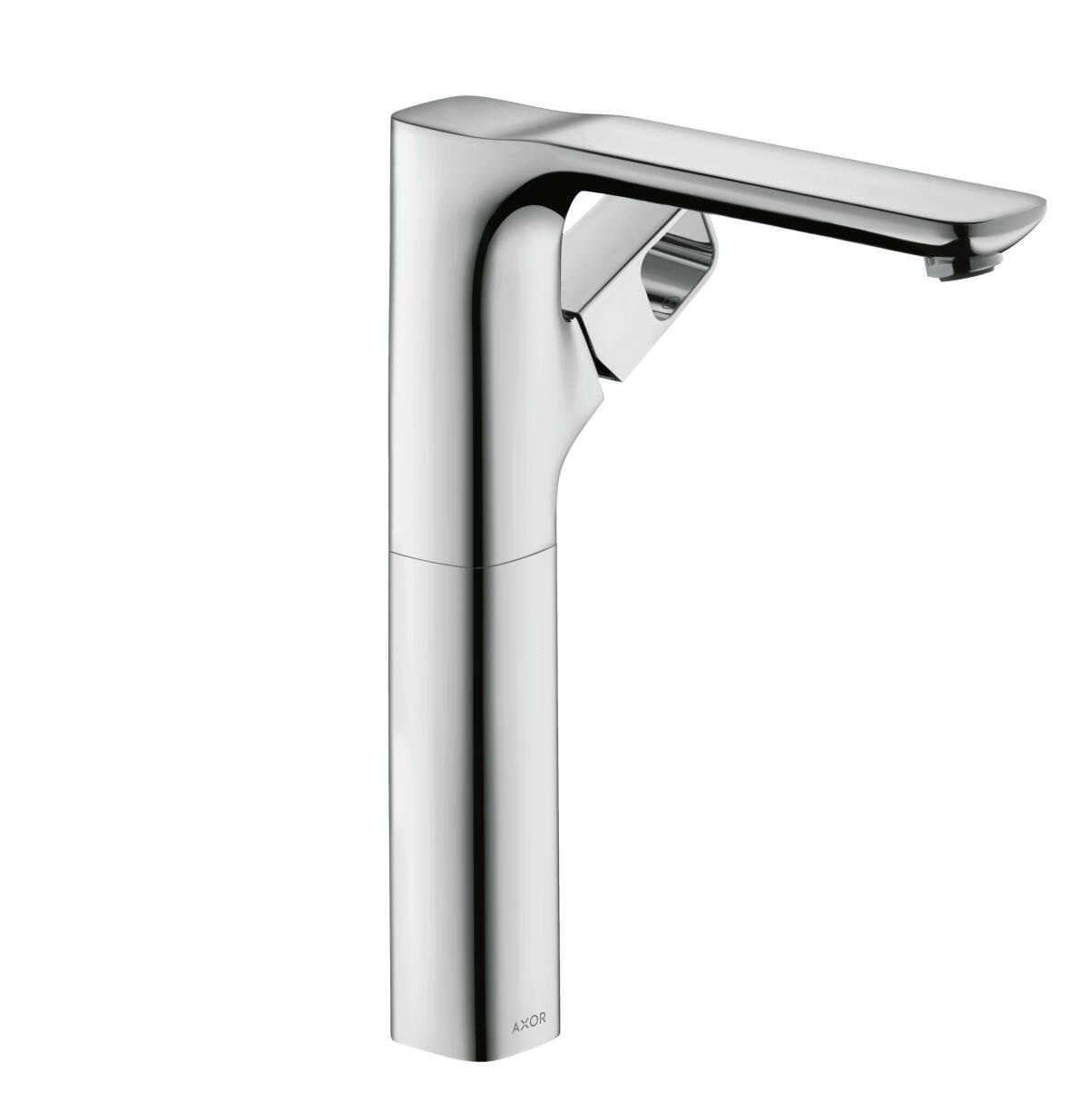 Single lever basin mixer 280 for washbowls with waste set, Polished Chrome, 11035020