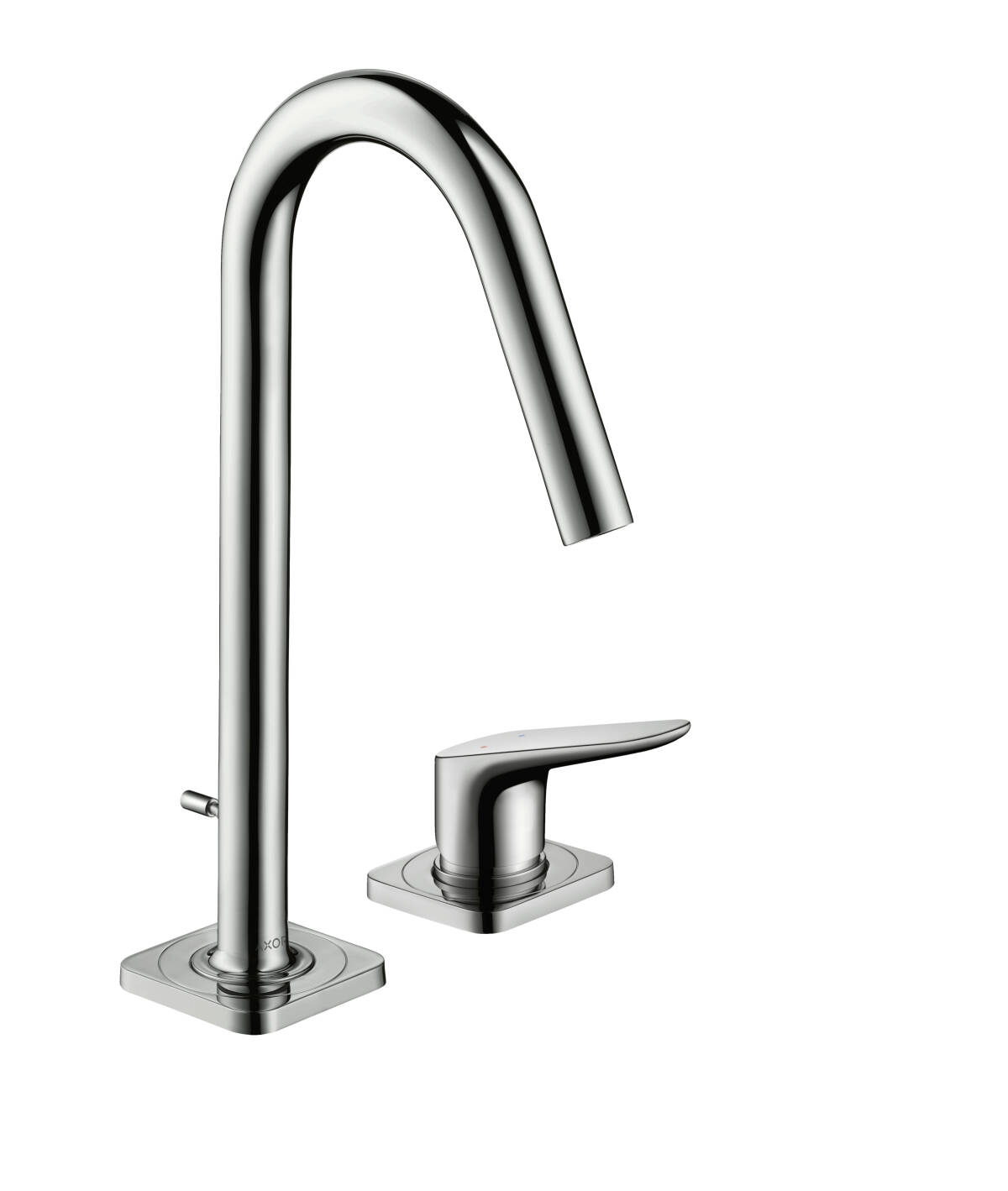2-hole basin mixer 160 with pop-up waste set, Chrome, 34132000