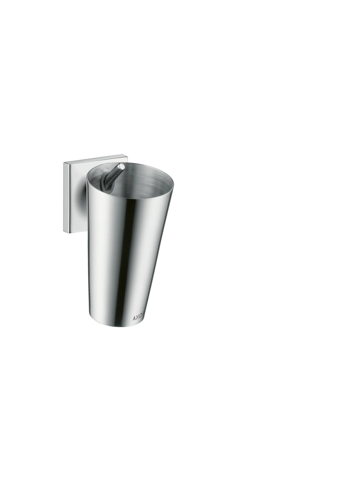 Toothbrush tumbler, Chrome, 42734000
