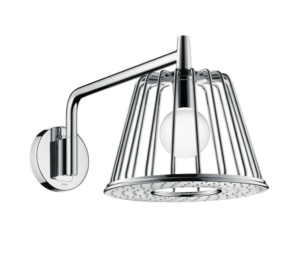 LampShower 275 1jet mit Brausearm, Chrom, 26031000