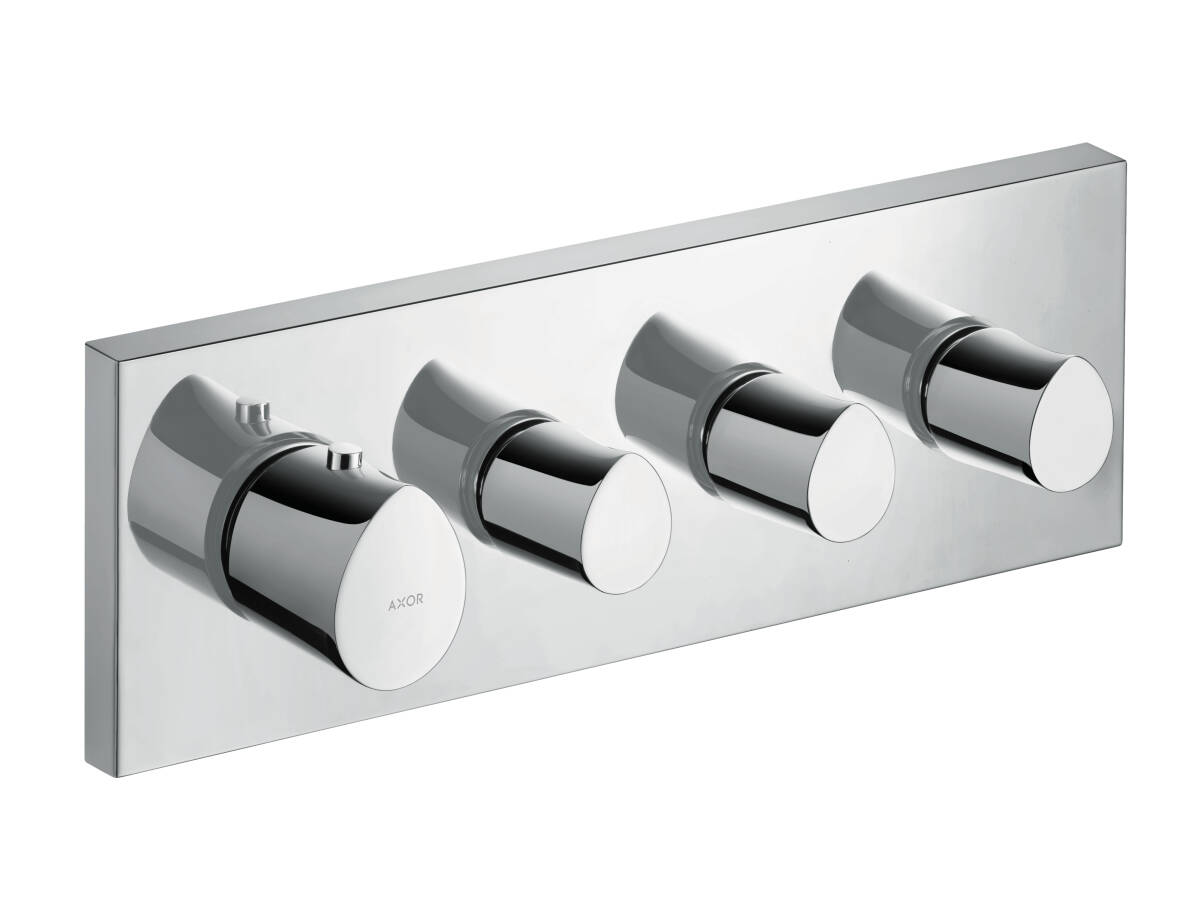 Thermostatic module 360/120 for concealed installation, Chrome, 12717000