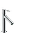 Single lever basin mixer 100 with lever handle and waste set