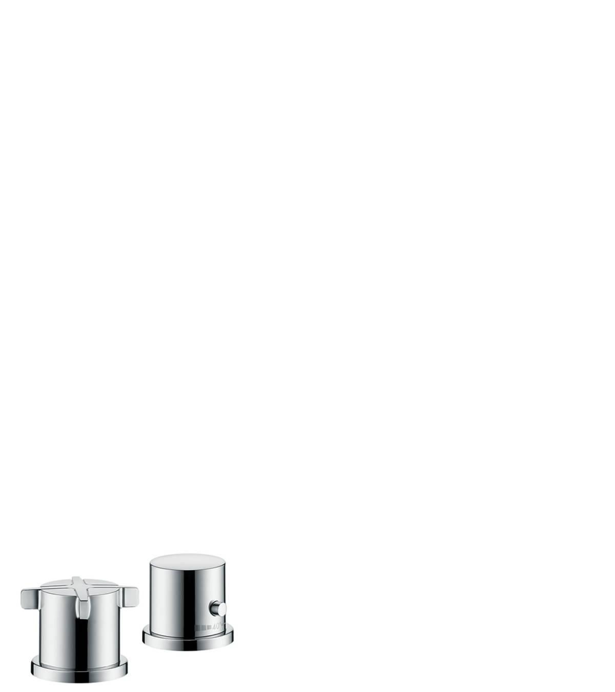 axor citterio e wannenarmaturen 2 verbraucher chrom 36412000. Black Bedroom Furniture Sets. Home Design Ideas