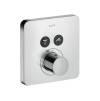 ShowerSelect Thermostat Softcube für 2 Verbraucher Unterputz