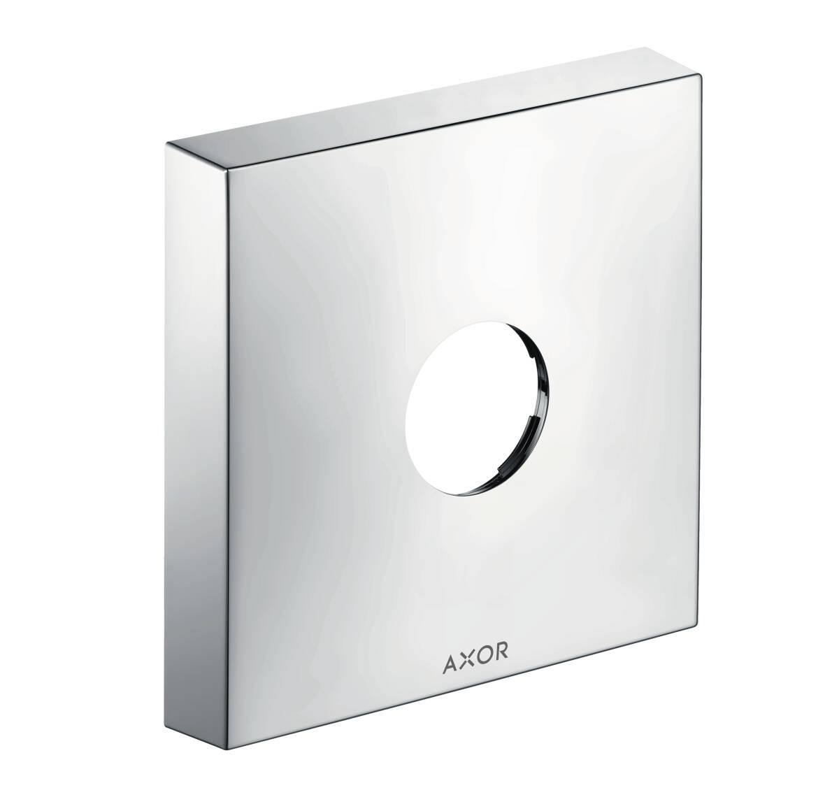 Extension element square 1-hole, Chrome, 14964000
