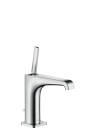 Single lever basin mixer 130 with pin handle and pop-up waste set