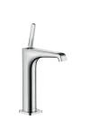 Single lever basin mixer 190 with pin handle for wash bowls with waste set