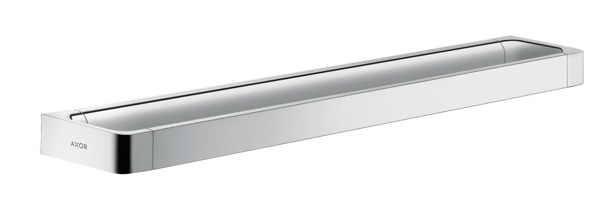 Rail bath towel holder 600 mm, Chrome, 42832000