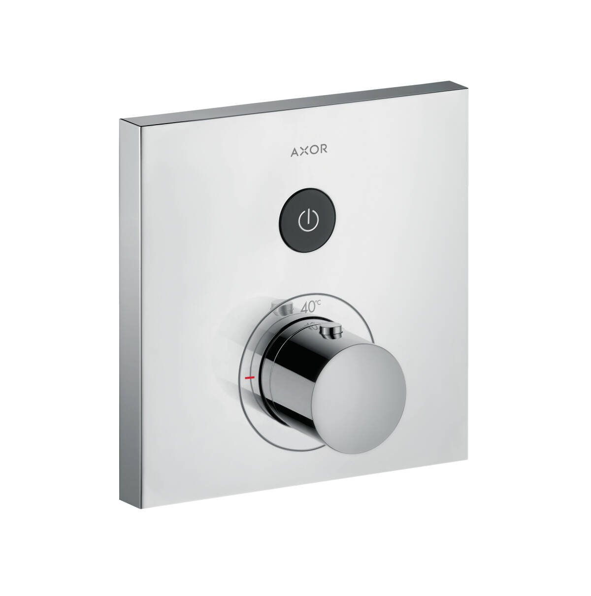ShowerSelect Thermostat Square für 1 Verbraucher Unterputz, Chrom, 36714000