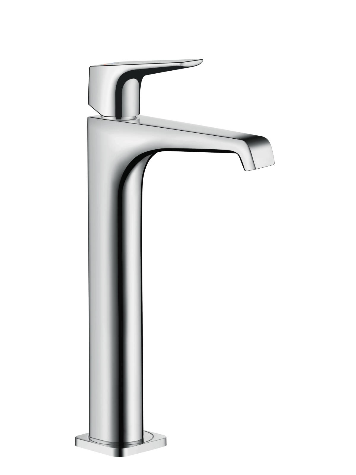 Single lever basin mixer 250 with lever handle for washbowls with waste set, Chrome, 36113000