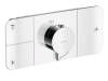 One thermostatic module, for 3 outlets for concealed installation