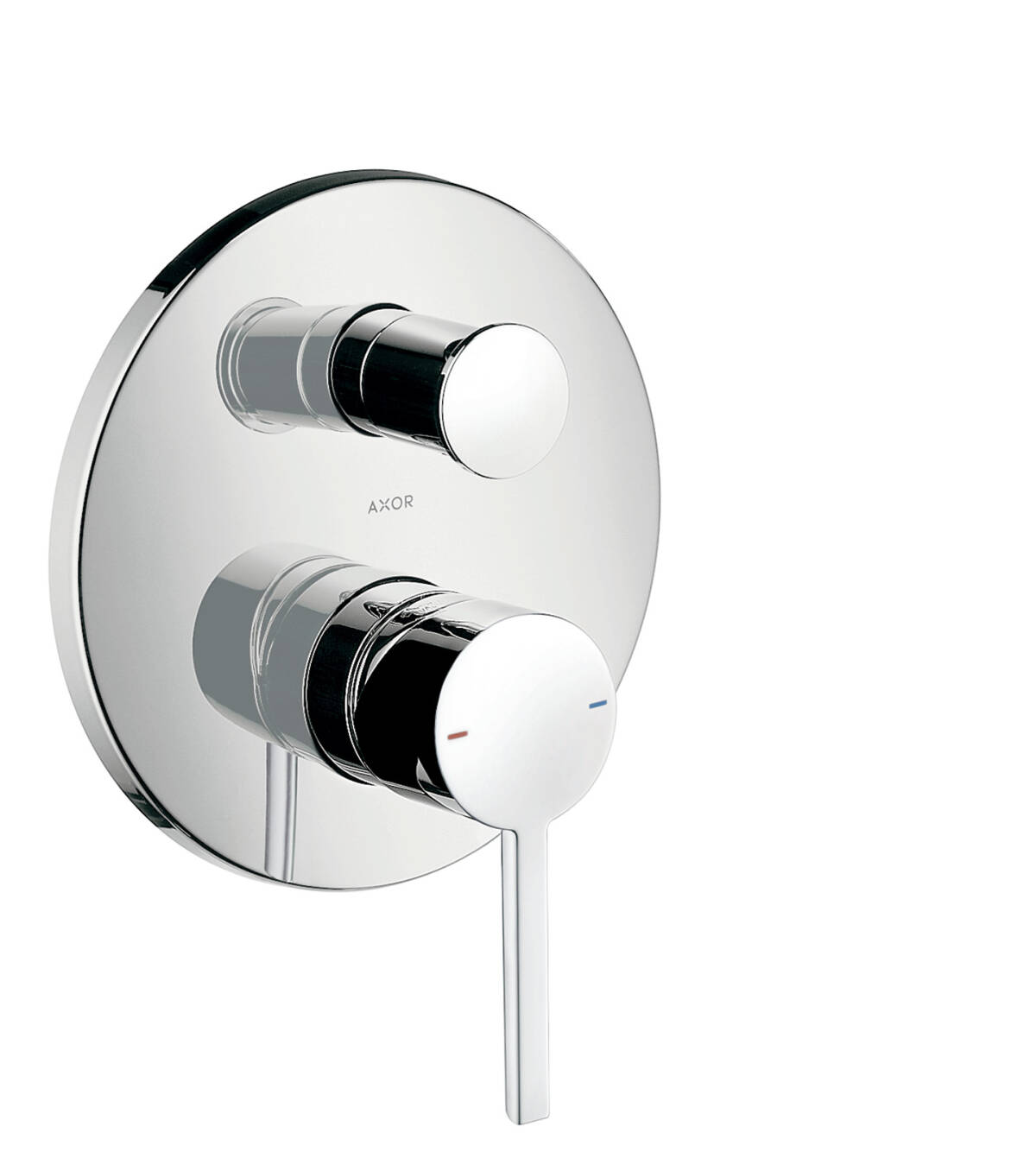 Single lever bath mixer for concealed installation with lever handle and integrated security combination according to EN1717, Chrome, 10427000