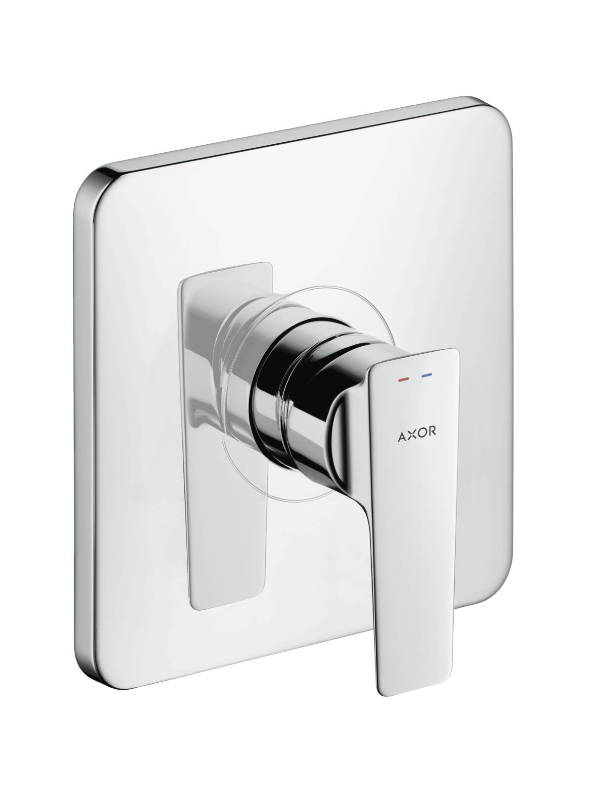 Single lever shower mixer for concealed installation, Brushed Chrome, 36655260