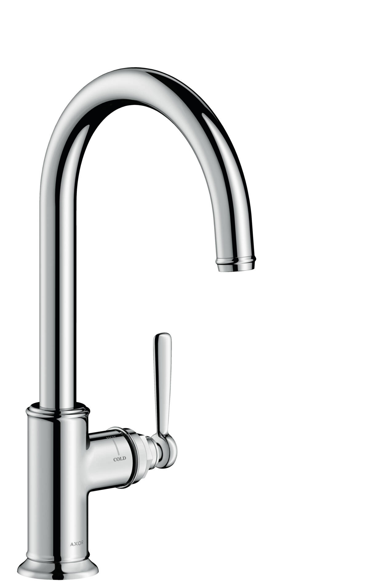 Single lever kitchen mixer, Chrome, 16580000