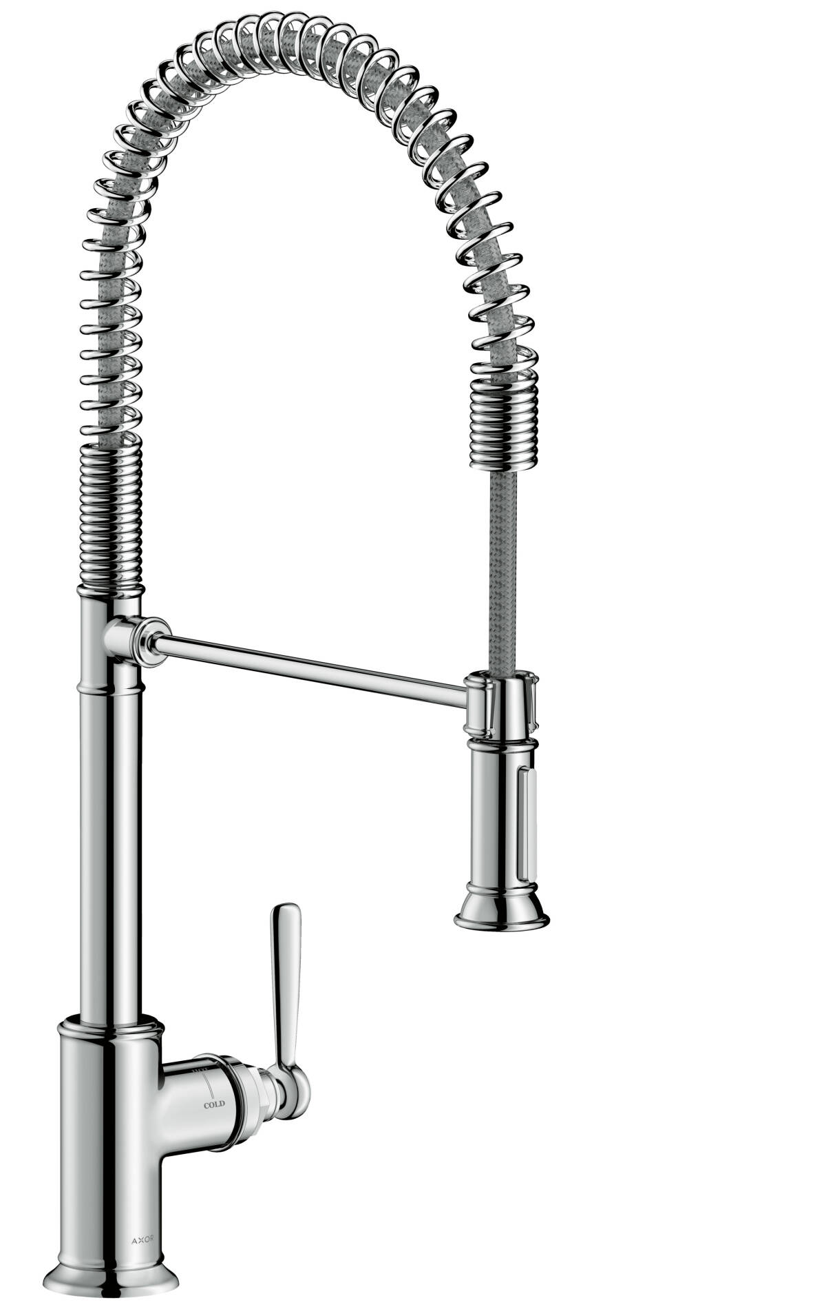 Single lever kitchen mixer 210 Semi-Pro, Chrome, 16582000