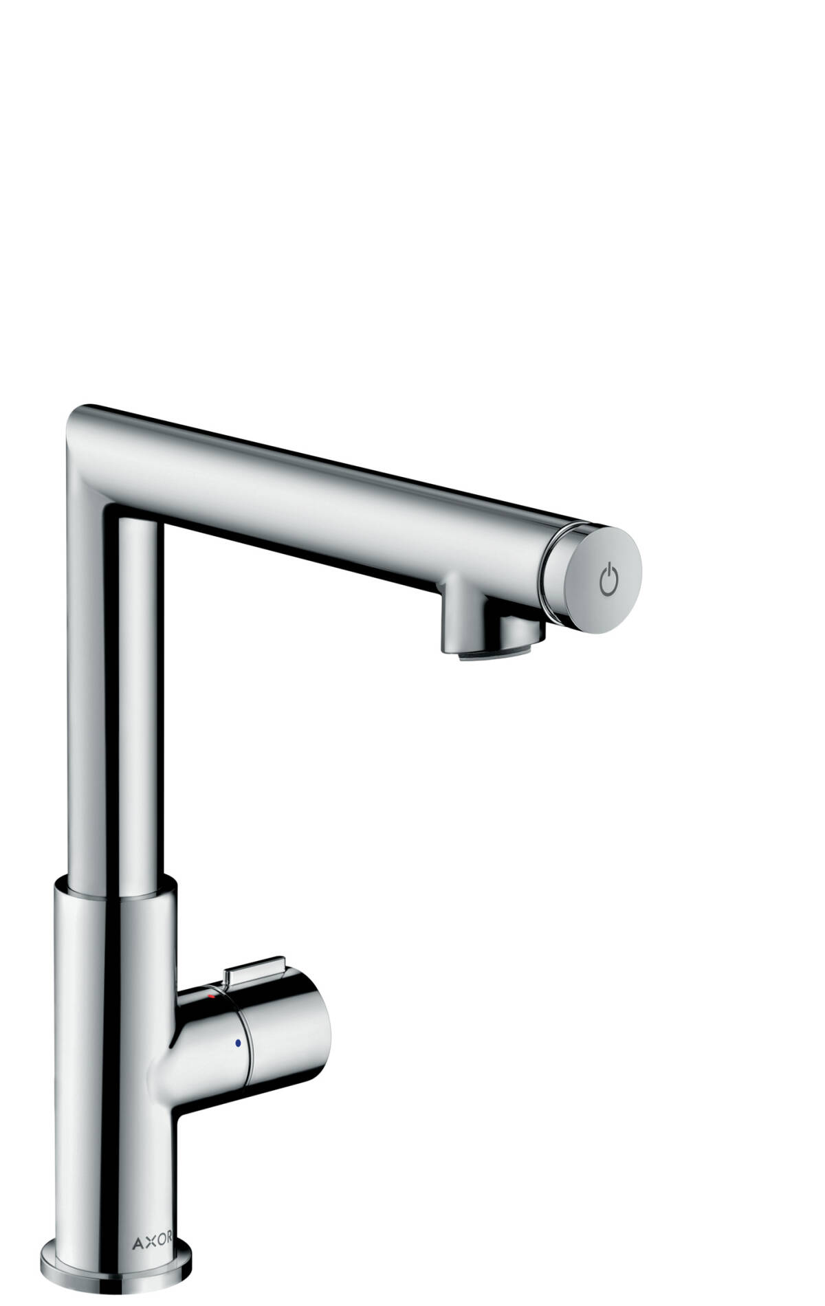 Basin mixer Select 220 with pop-up waste set, Polished Chrome, 45016020
