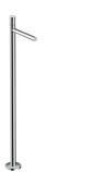 Single lever basin mixer floor-standing zero handle without waste set