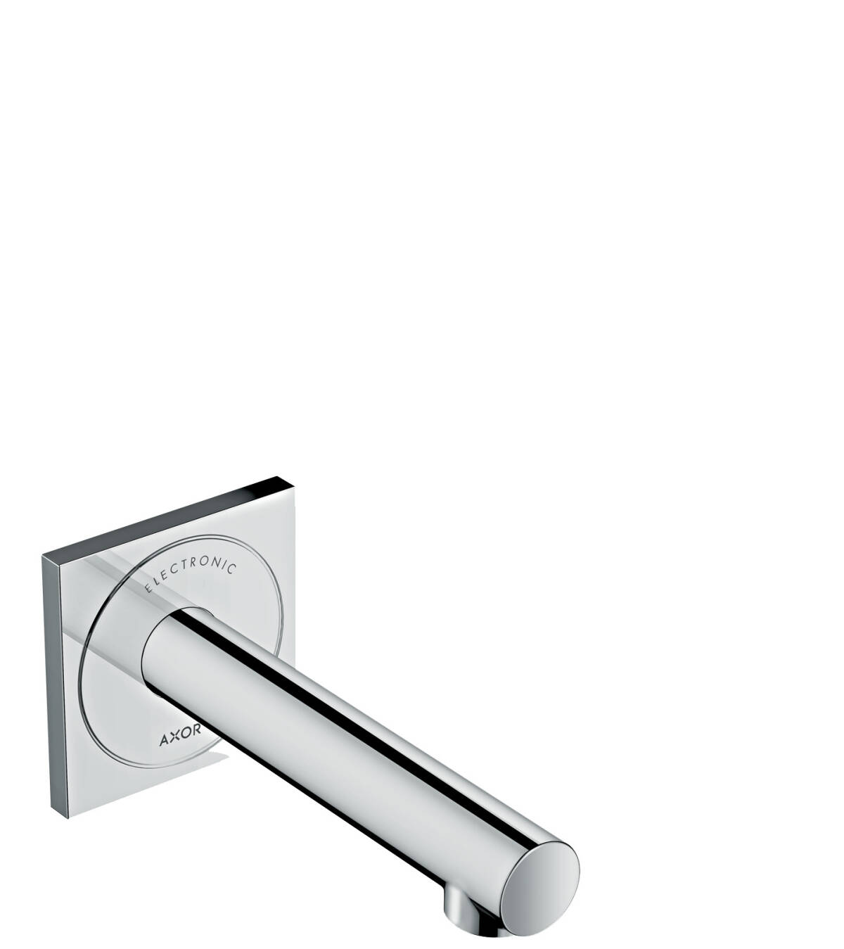 Electronic basin mixer for concealed installation wall-mounted 160, Chrome, 45110000