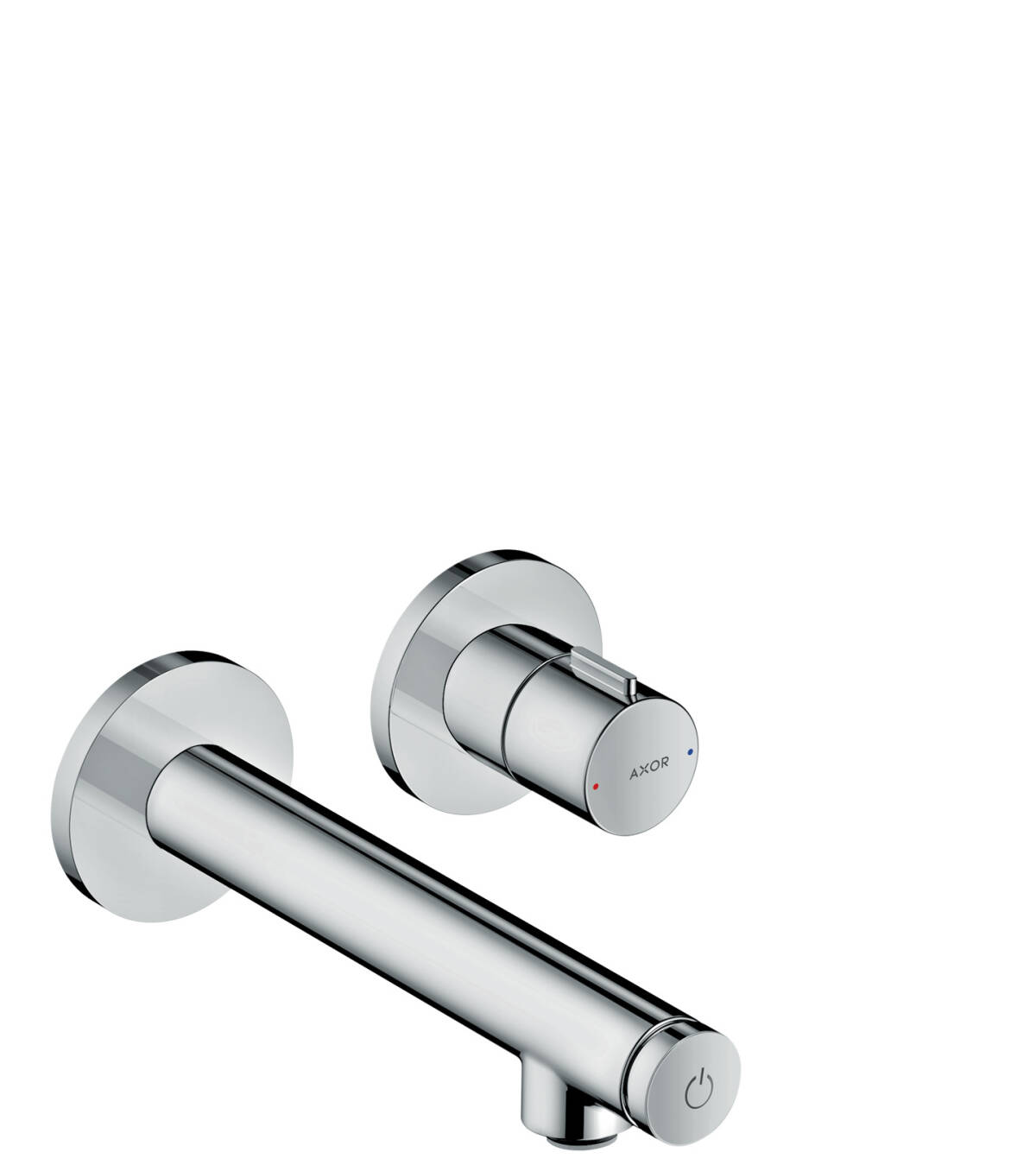 Select basin mixer for concealed installation wall-mounted 165, Chrome, 45112000