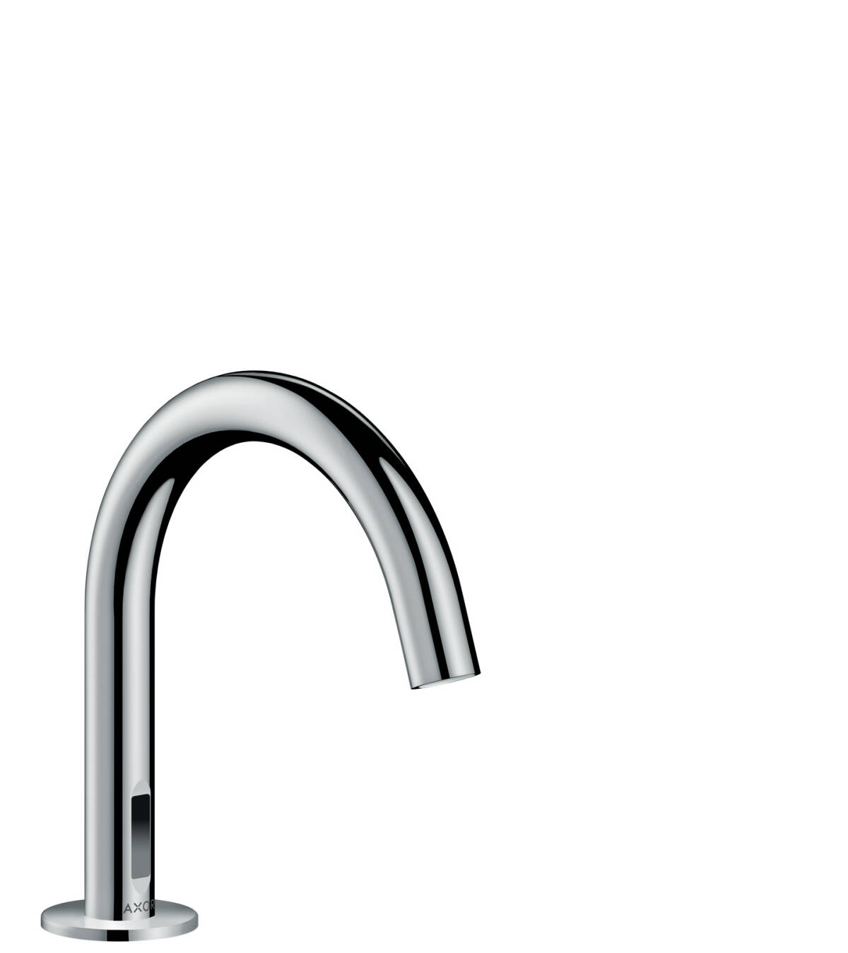 Electronic basin mixer with temperature pre-adjustment with mains connection 230 V, Brushed Nickel, 38010820