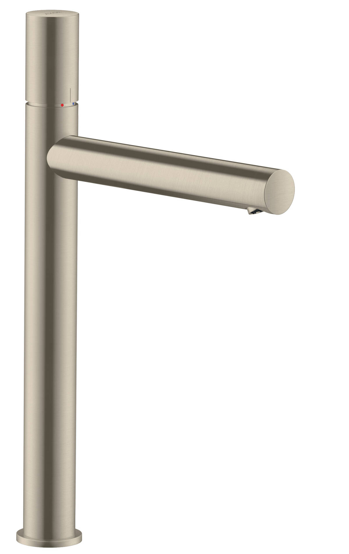 Single lever basin mixer 260 zero handle without pull-rod, Brushed Nickel, 45004820