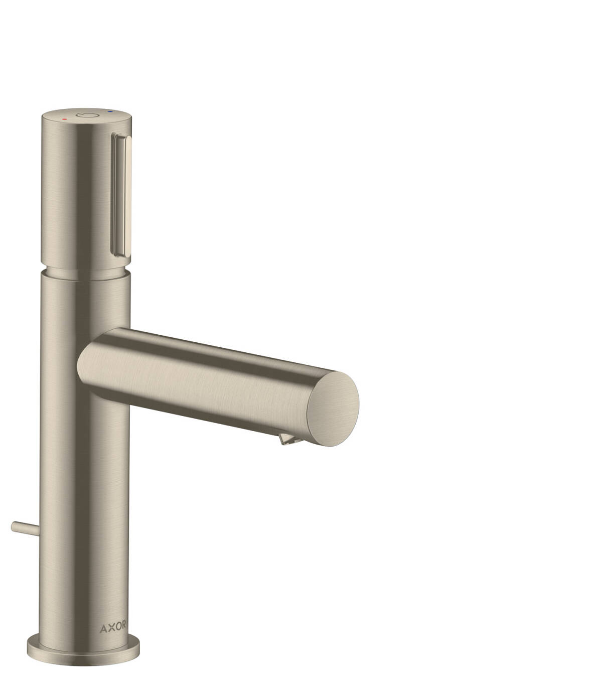 Basin mixer Select 110 with pop-up waste set, Brushed Nickel, 45010820