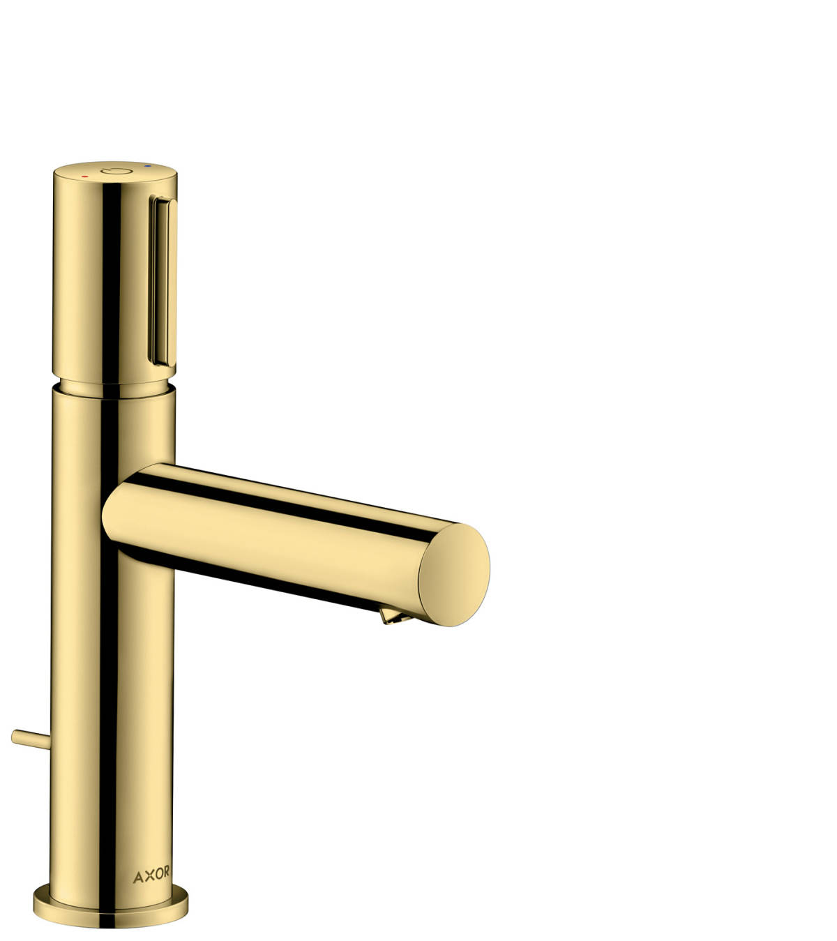 Basin mixer Select 110 with pop-up waste set, Polished Brass, 45010930