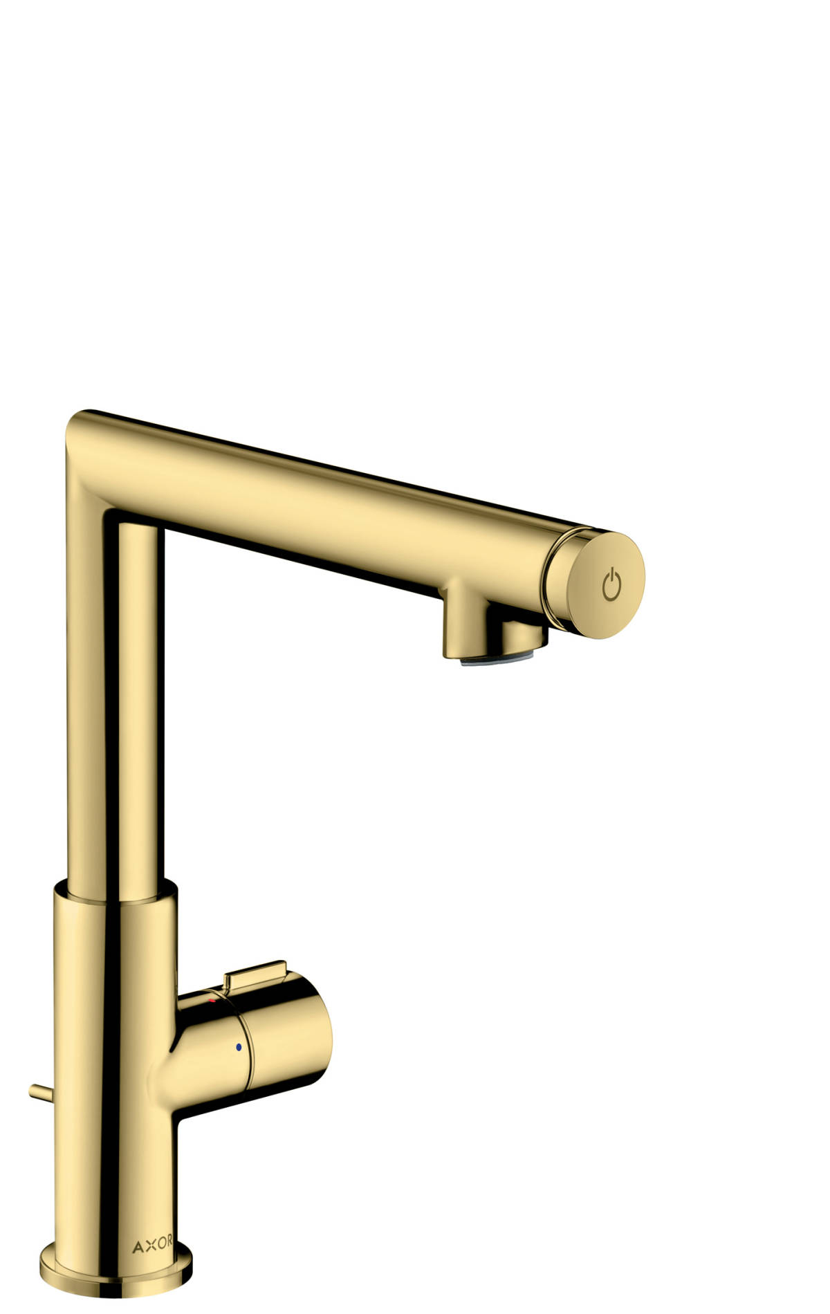Basin mixer Select 220 with pop-up waste set, Polished Brass, 45016930