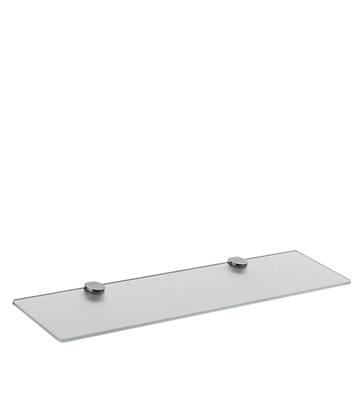 Glass shelf, Chrome, 41550000