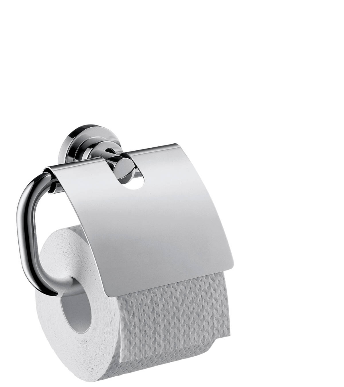 Roll holder, Chrome, 41738000