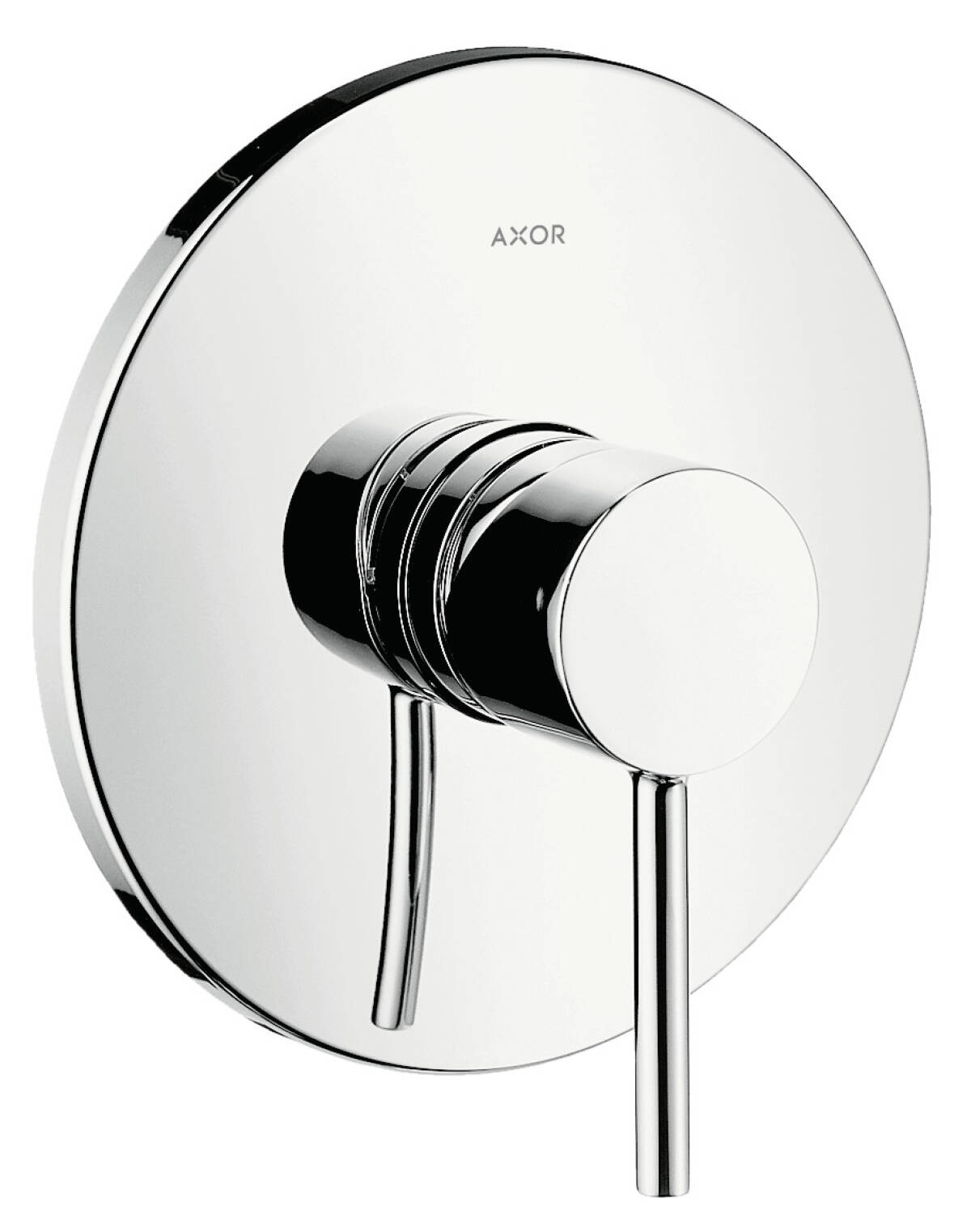 Single lever shower mixer for concealed installation with pin handle, Chrome, 10616000