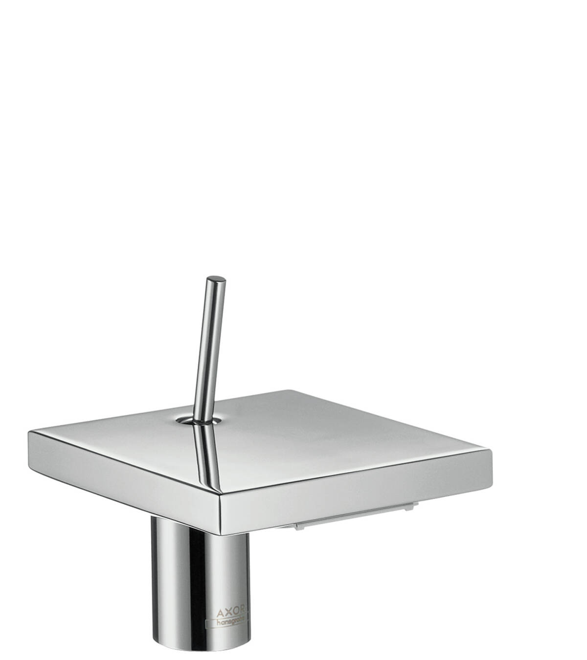 Single lever basin mixer 80 with waste set, Stainless Steel Optic, 10077800