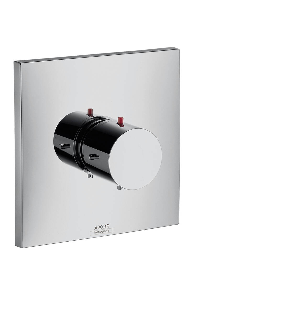 Thermostat for concealed installation, Polished Chrome, 10716020