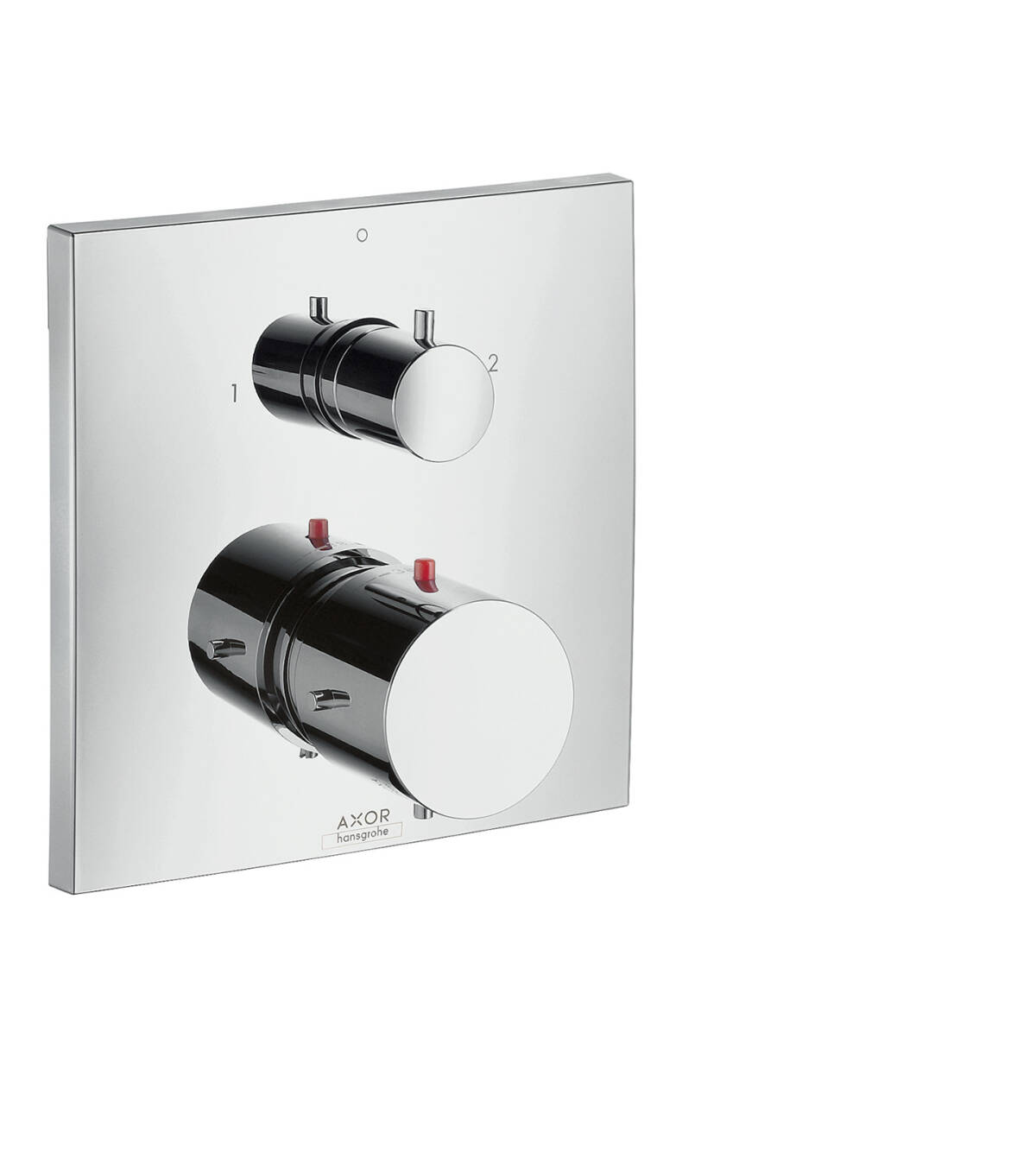 Thermostatic mixer for concealed installation with shut-off/ diverter valve, Chrome, 10726000