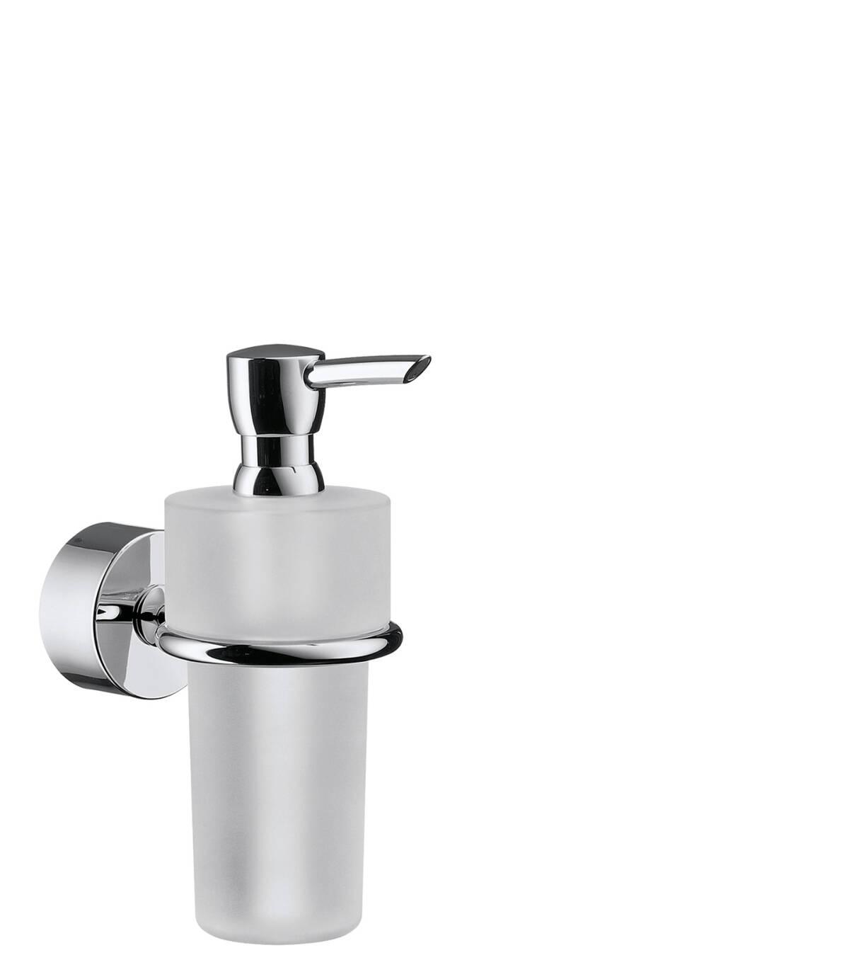 Dosificador de jabón líquido, color acero, 41519800