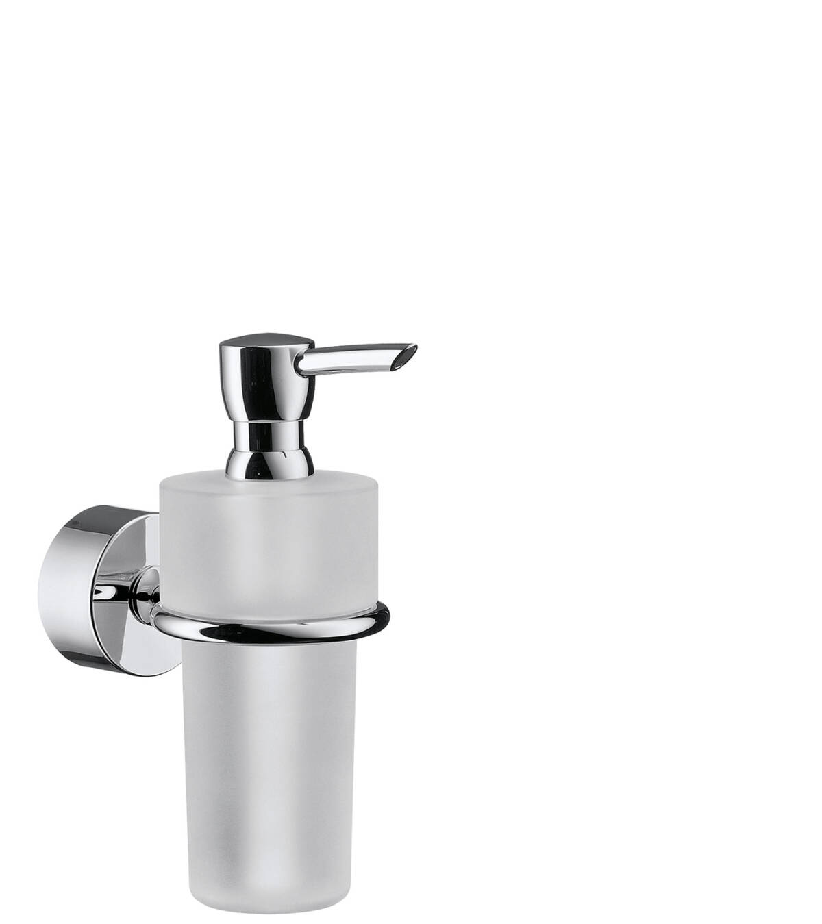 Liquid soap dispenser, Chrome, 41519000
