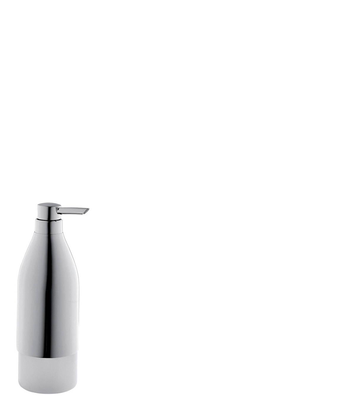 Liquid soap dispenser, Brushed Red Gold, 40819310