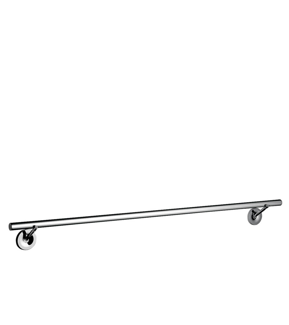 Bath towel rail 800 mm, Chrome, 40808000