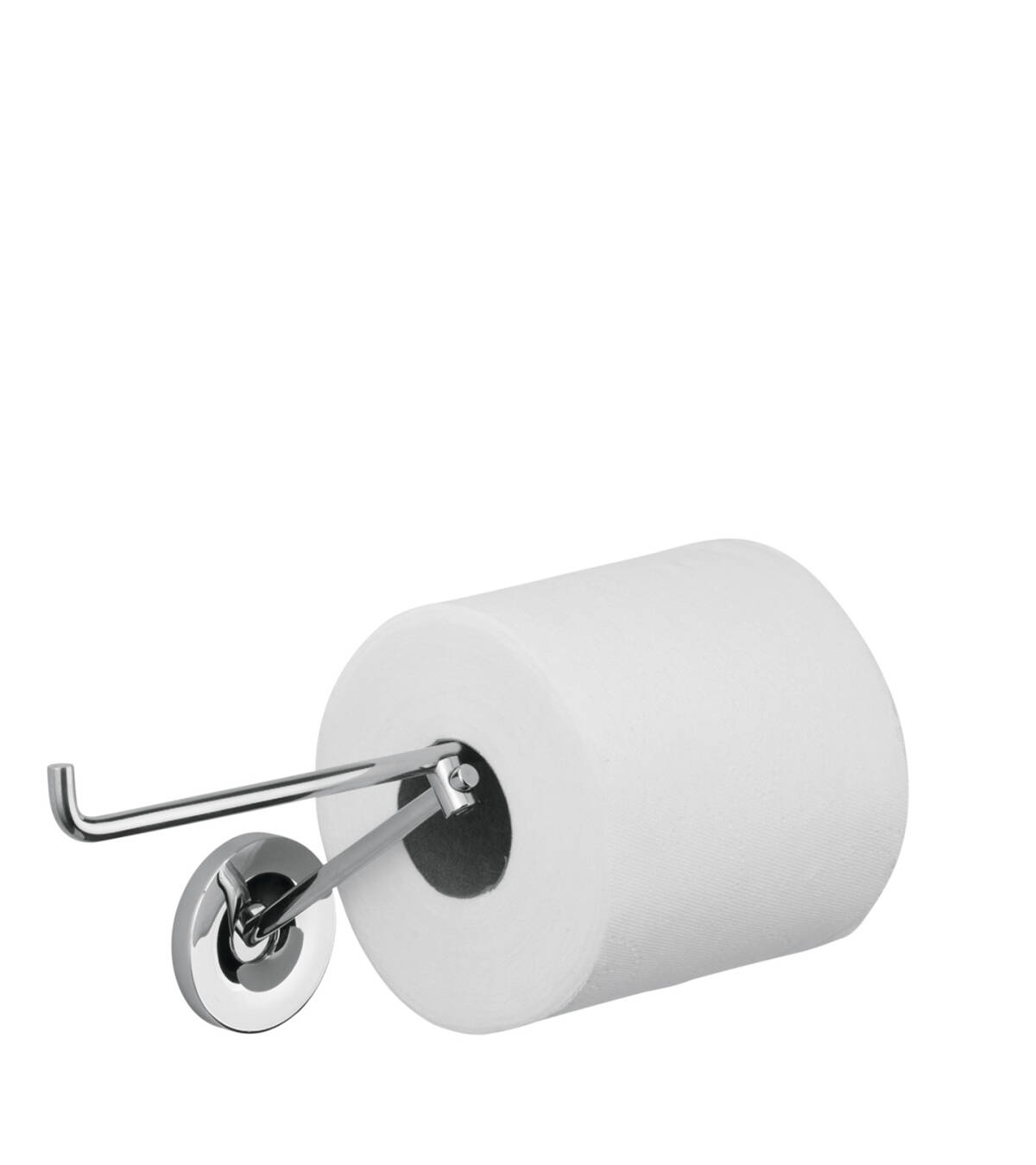 Roll holder, Chrome, 40836000