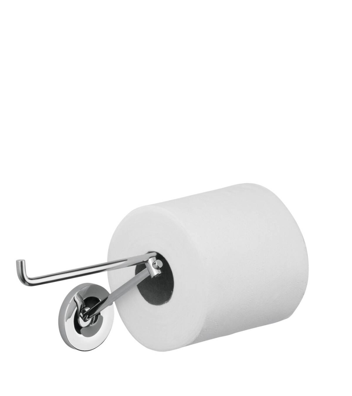 Roll holder, Brushed Chrome, 40836260