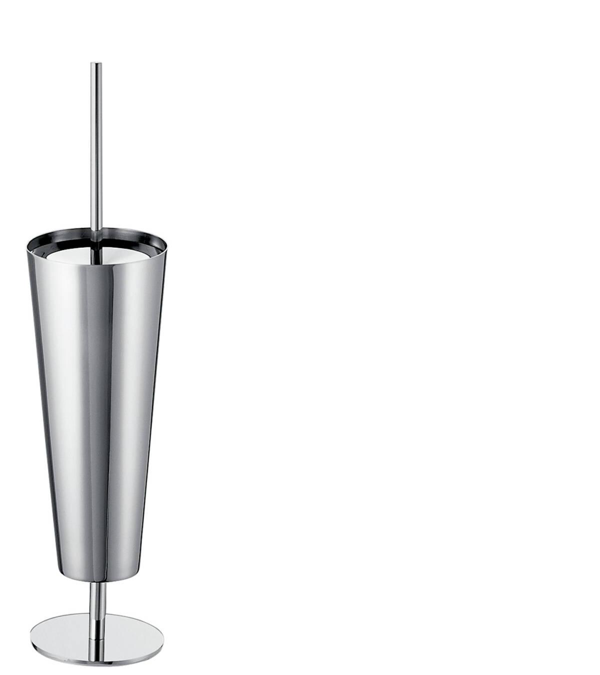 Toilet brush holder floor-standing, Chrome, 40840000