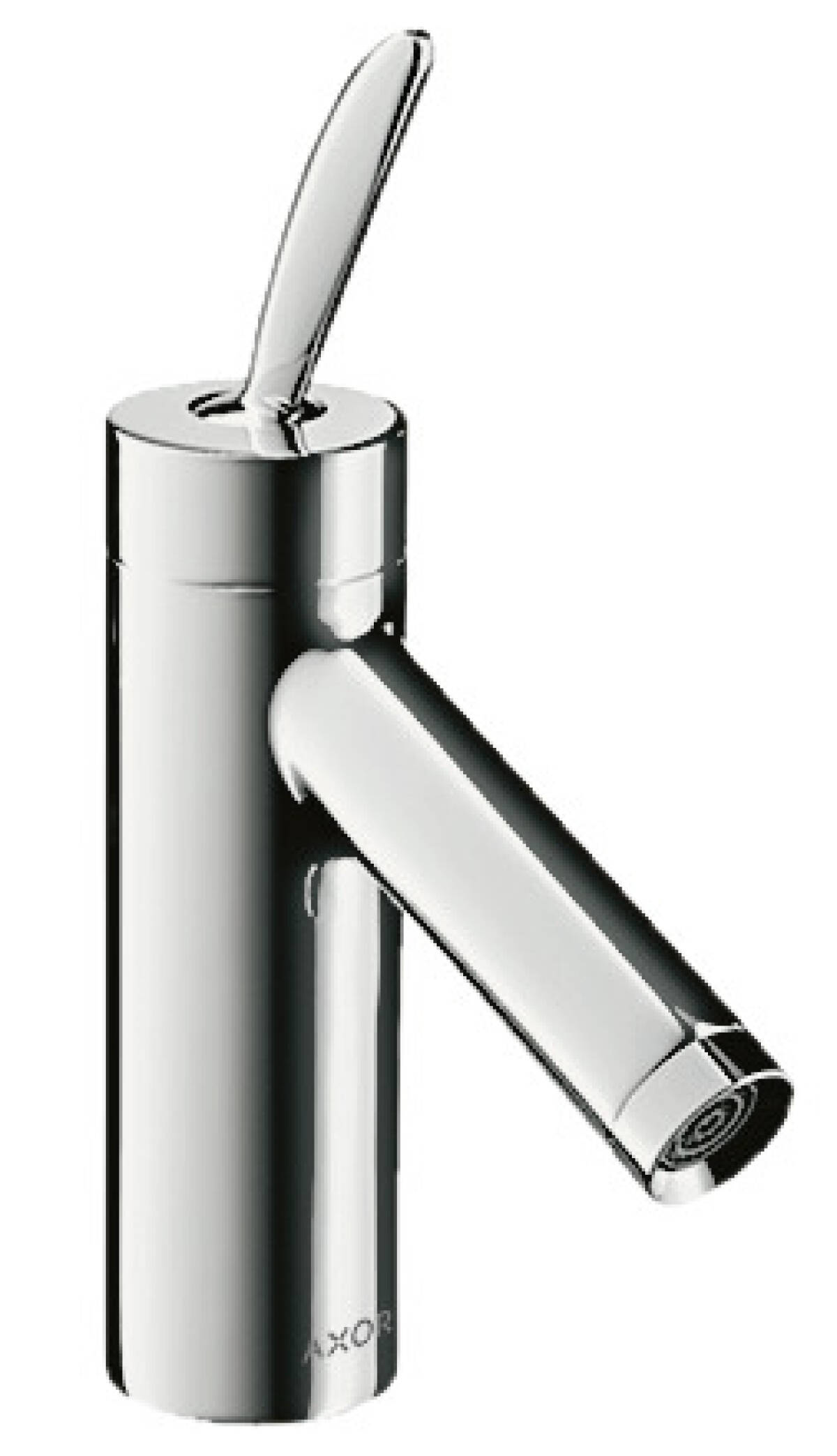 Single lever basin mixer 70 with pop-up waste set, Stainless Steel Optic, 10010800
