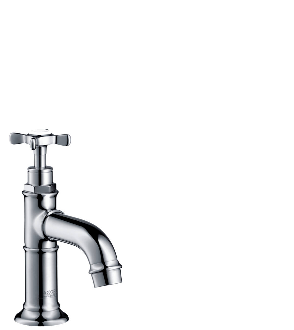 Pillar tap 50 with lever handle without waste set, Chrome, 16530000
