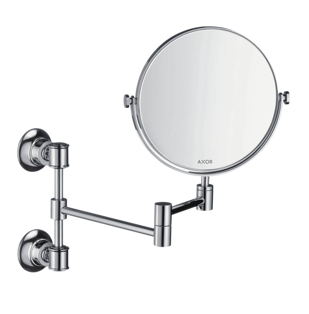 Shaving mirror, Brushed Bronze, 42090140