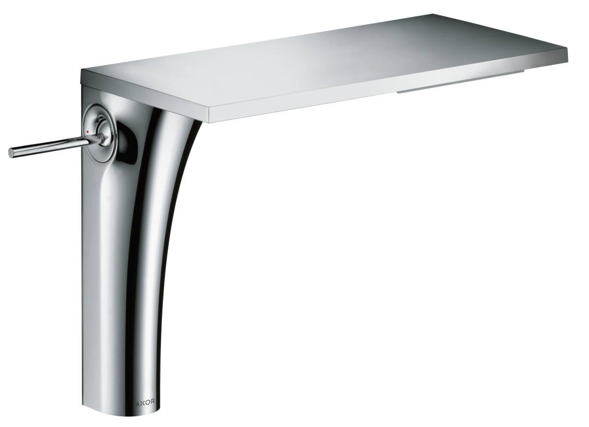 Einhebel-Waschtischmischer 220 ohne Zugstange für Waschschüsseln, Chrom, 18020000