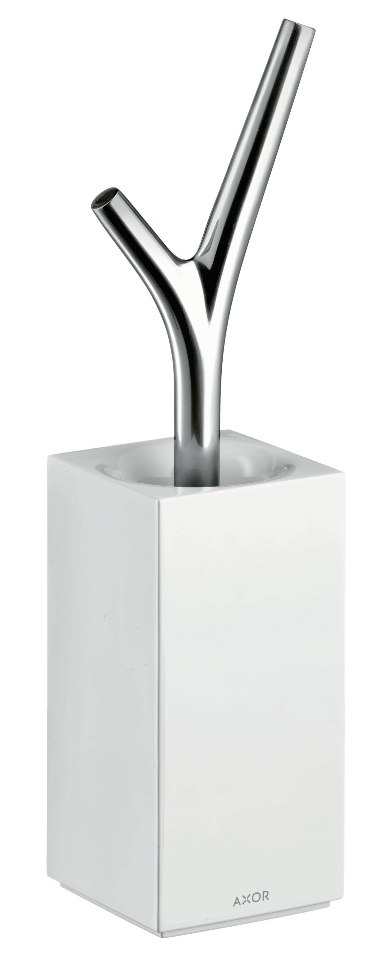 Toilet brush holder floor-standing, Chrome, 42235000