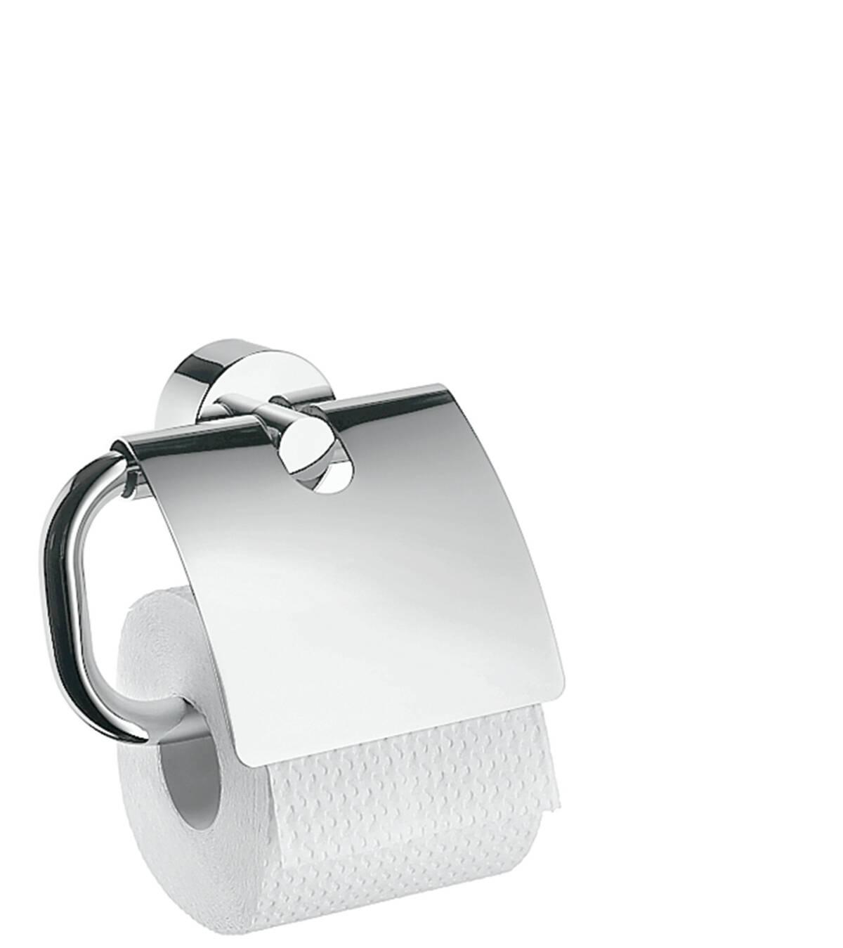 Roll holder, Chrome, 41538000